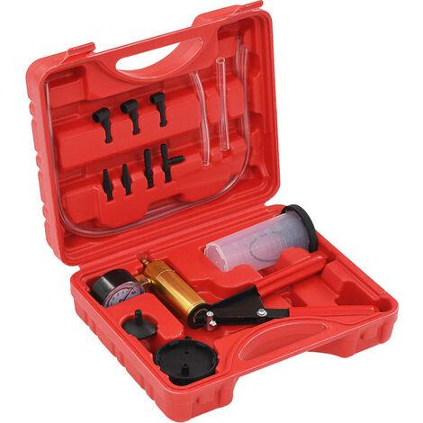 vidaXL Brake Bleeder and Vacuum Pump Kit