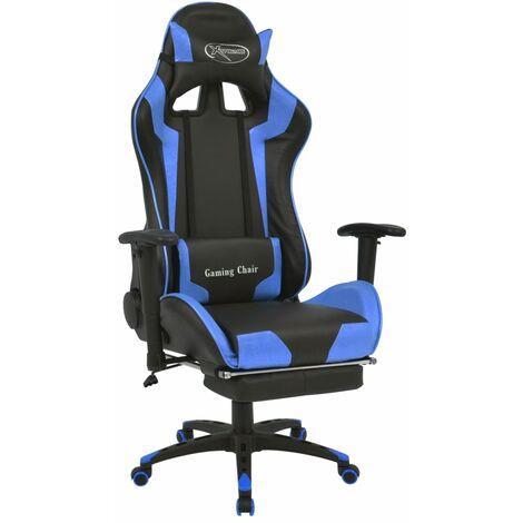 vidaXL Bürostuhl Gaming-Stuhl Neigbar mit Fußstütze Schreibtischstuhl Drehstuhl Racing Sportsitz Chefsessel Bürosessel Gamingstuhl mehrere Auswahl
