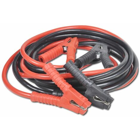 vidaXL Cable de demarrage 2 pcs 1800 A