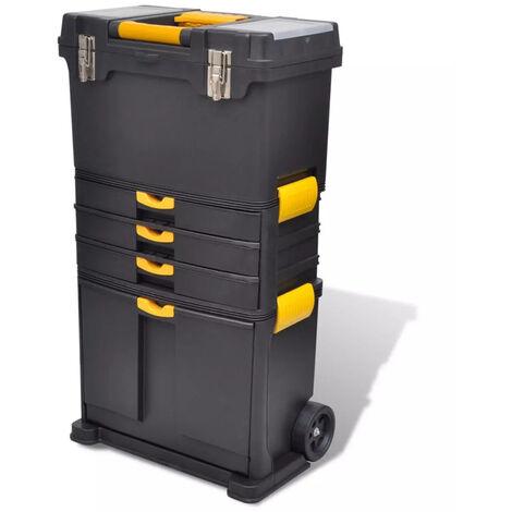 VidaXL Caja de herramientas carrito portatil