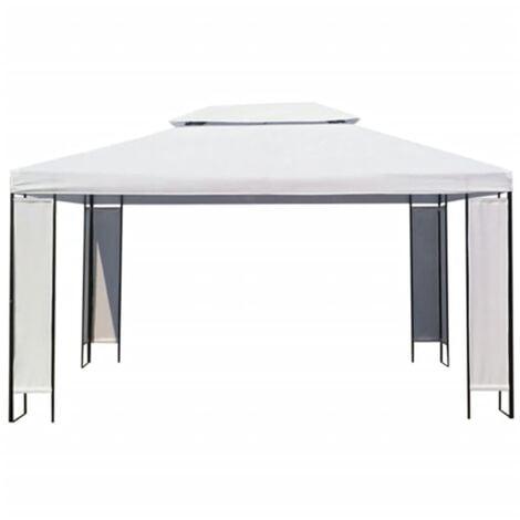vidaXL Carpa cenador blanco 3x4 m - Blanco