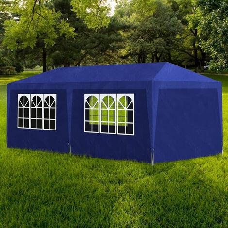 vidaXL Carpa de fiestas 3x6 m azul