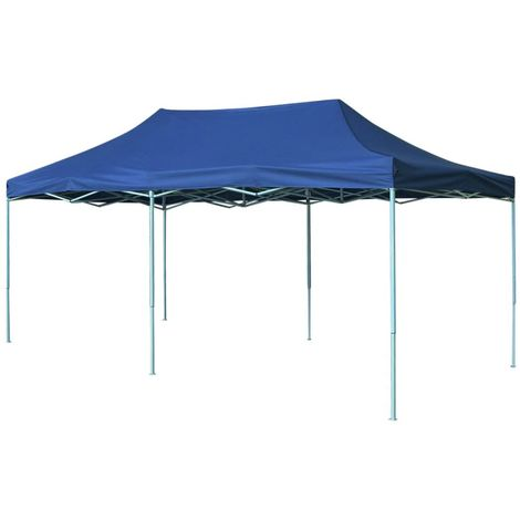 vidaXL Carpa pleglable Pop-up 3x6 m azul