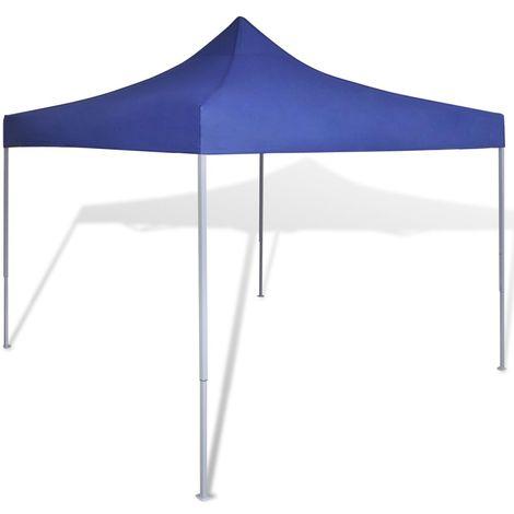 vidaXL Carpa tienda plegable azul 3x3 m
