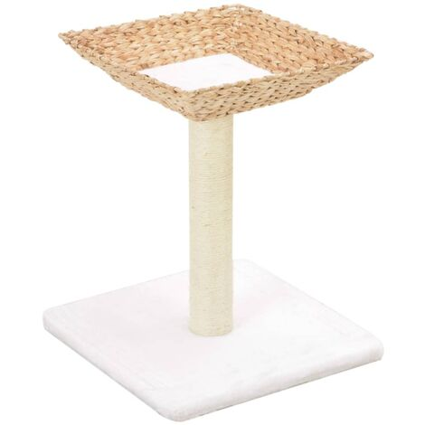 vidaXL Cat Tree with Sisal Scratching Post Seagrass - Brown