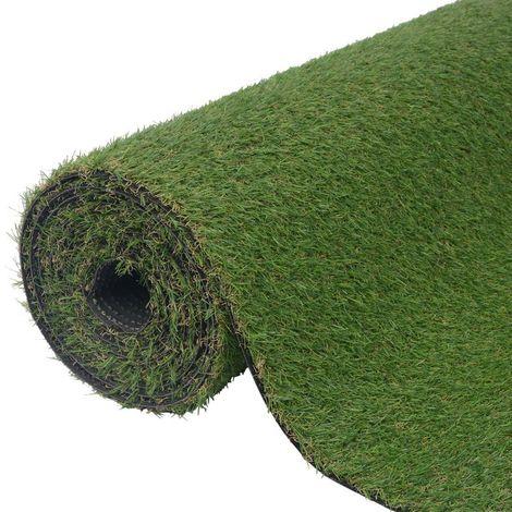 vidaXL Cesped artificial verde 1x5 m/20-25 mm
