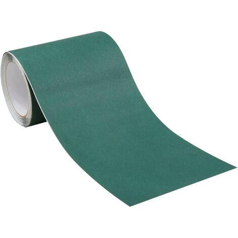 vidaXL Cinta para césped artificial doble cara 0,15x10 m verde 2 uds