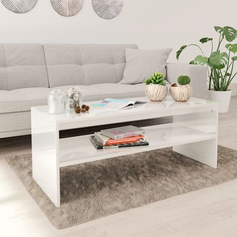 vidaXL Coffee Table 100x40x40 cm Chipboard Modern Accent Telephone Table Sofa Side Desk Home Living Room Bedroom Furniture Multi Colours