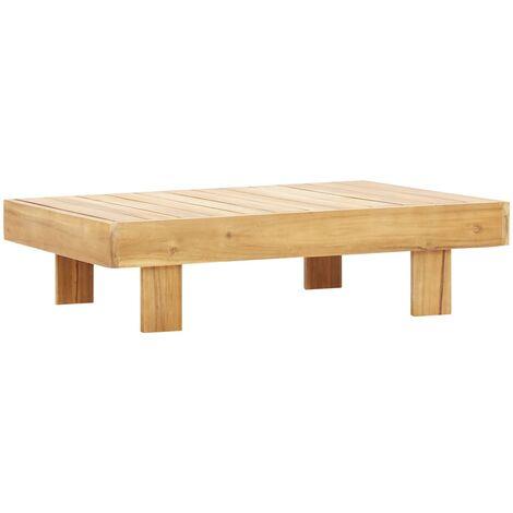 "main image of ""vidaXL Coffee Table 100x60x25 cm Solid Acacia Wood"""