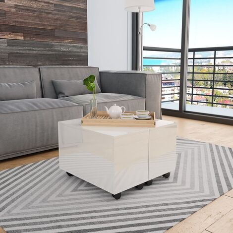 """main image of """"vidaXL Coffee Table Home Living Room Accent Side End Couch Telephone Sofa Tea Storage Table Furniture Stand Chipboard Multi Colours"""""""