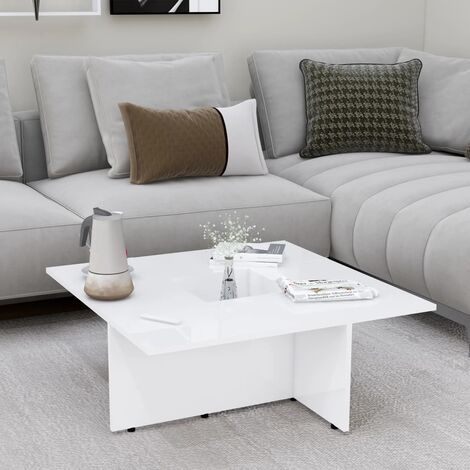 """main image of """"vidaXL Coffee Table Home Interior Living Room Furniture Accent Side Tea End Couch Sofa Laptop Snack Stand Indoor Chipboard Multi Colours"""""""