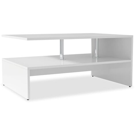 """main image of """"vidaXL Coffee Table Chipboard 90x59x42cm Living Room Plant Stand Multi Colours"""""""