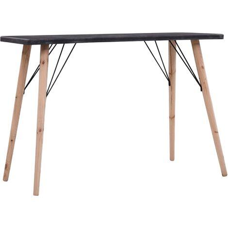 vidaXL Coffee Table Concrete Finish MDF 112x60x41 cm - Grey