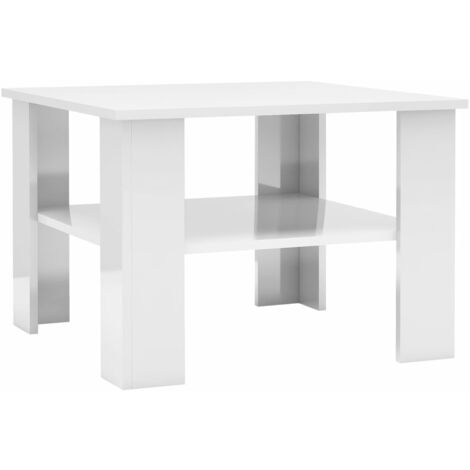 vidaXL Coffee Table Home Interior Decor Couch Side Dining Telephone Small Tea Table Dining Dinner Living Room Furniture Chipboard Multi Colours