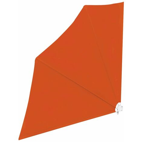 """main image of """"vidaXL Collapsible Balcony Side Awning Terracotta 140x140 cm - Brown"""""""