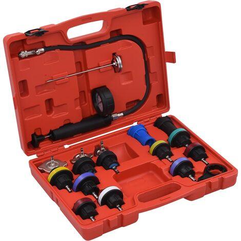 """main image of """"vidaXL Comprobador presión circuito refrigeración y radiador 18 piezas"""""""