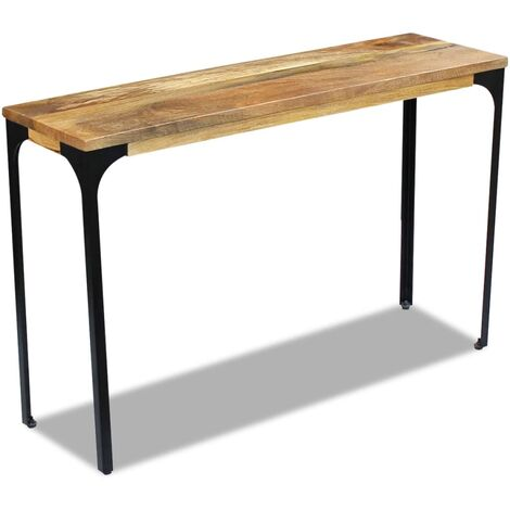 Console Table 120x35x76 cm Mango Wood
