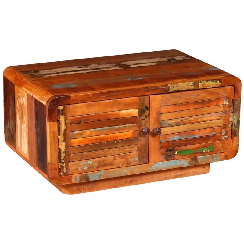 Couchtisch Recyceltes Holz 80 x 50 x 40 cm - VIDAXL