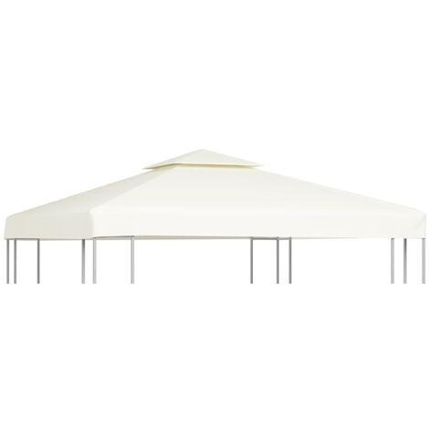 vidaXL Cubierta De Cazebo Reemplazo De Dosel 270 G/M² 3 x 3 M