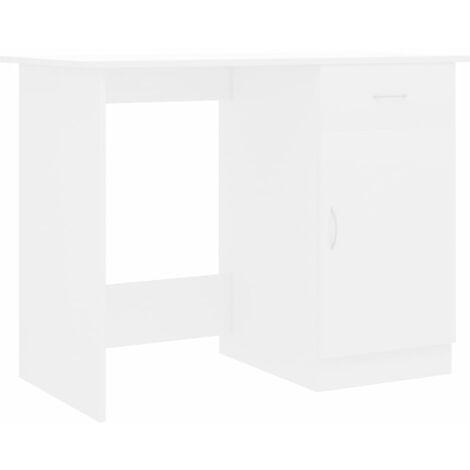 vidaXL Desk 100x50x76 cm Chipboard Modern Bedroom Living Room Home Office Dorm Writing Table Workstation Computer Desk Multi Colours