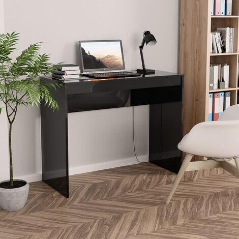 vidaXL Desk 90x40x72 cm Chipboard Computer Study Desk Console Table Workstation Home Office Hallway Living Room Bedroom Furniture Multi Colours