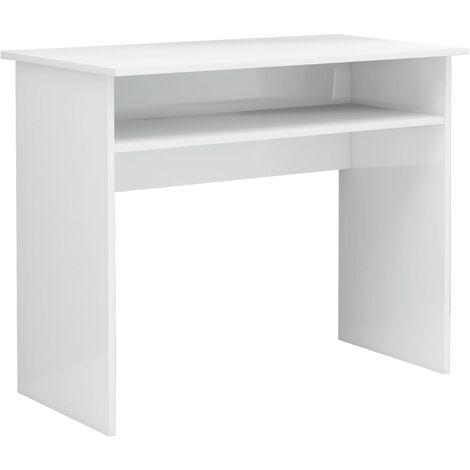 "main image of ""vidaXL Desk Sturdy Home Bedroom Living Room Office Computer Corner Working Study Work Table Workstation Furniture Chipboard Multi Colours"""