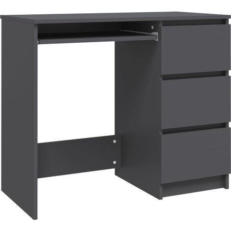 vidaXL Desk Computer Desks Workstations Corner Desks Office Desks Student Office Work Station Modern Furniture Chipboard Multi Colours