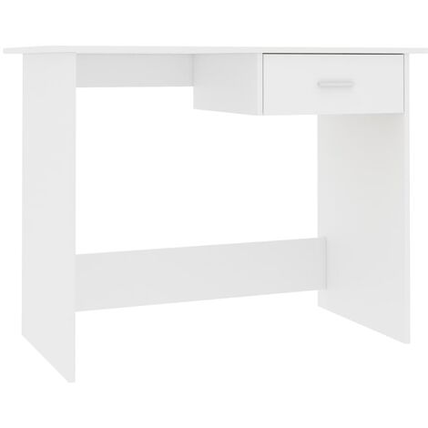 vidaXL Desk Home Bedroom Living Room Office Writing Study Student Table Computer Corner Desk Workstation Furniture Chipboard Multi Colours