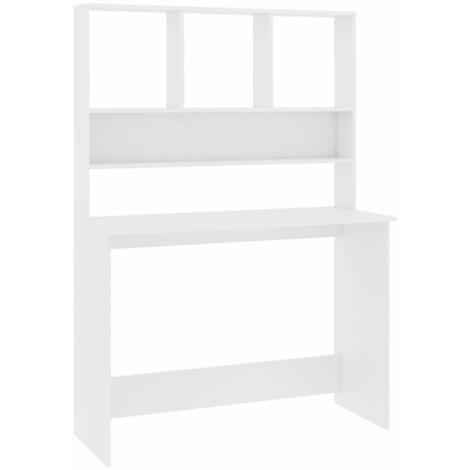 "main image of ""vidaXL Desk with Shelves Home Office Living Room Bedroom Computer Workstation Corner Desk Storage Cabinet Bookcase Chipboard Multi Colours"""