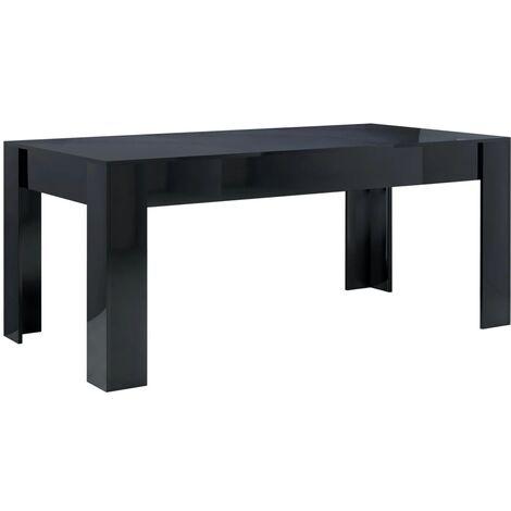 vidaXL Dining Table Chipboard Dinner Room Kitchen Home Restaurant Breakfast Desk Indoor Furniture Multi Colours 160x80x76/180x90x76 cm