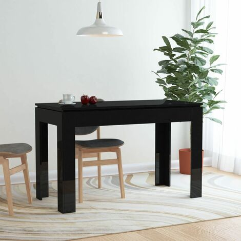vidaXL Dining Table Scandinavian Home Indoor Restaurant Kitchen Table Dining Room Furniture Dinner Desk 120x60x76cm Chipboard Multi Colours