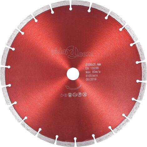 vidaXL Disco de Corte de Diamante Acero 350 mm 20 mm
