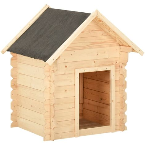 vidaXL Dog House 150x80x100 cm Solid Pine Wood
