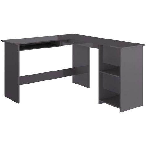 vidaXL Eckschreibtisch in L-Form Computertisch Schreibtisch Bürotisch PC Tisch Winkelschreibtisch Arbeitstisch 120x140x75cm Spanplatte mehrere Auswahl