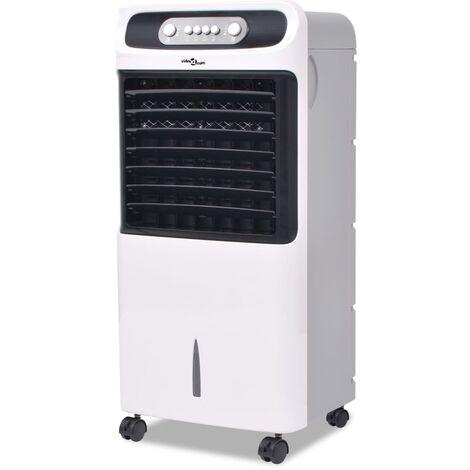 vidaXL Enfriador de aire portátil 80 W 12 L 496 m³ / h - Blanco