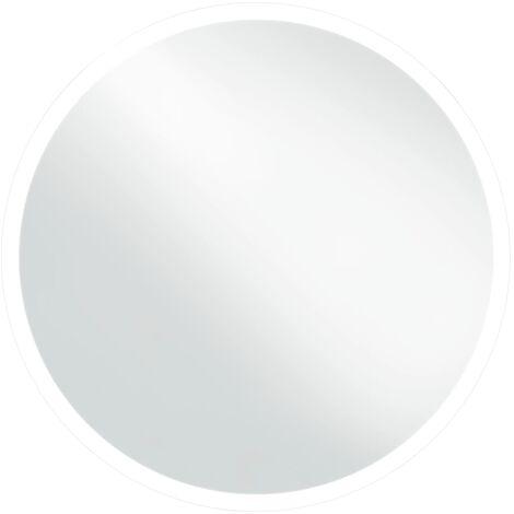 "main image of ""vidaXL Espejo de baño con LED 60 cm - Plateado"""