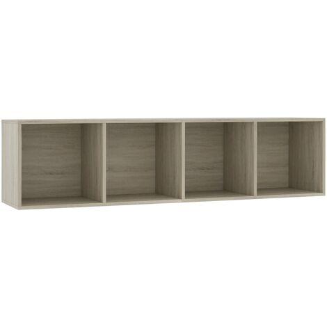 vidaXL Estantería/Mueble para TV Casa Hogar Decoración Estilo Diseño Mobiliario Muebles Sala Salón Bricolaje Jardín Terraza 143x30x36 cm Multicolor