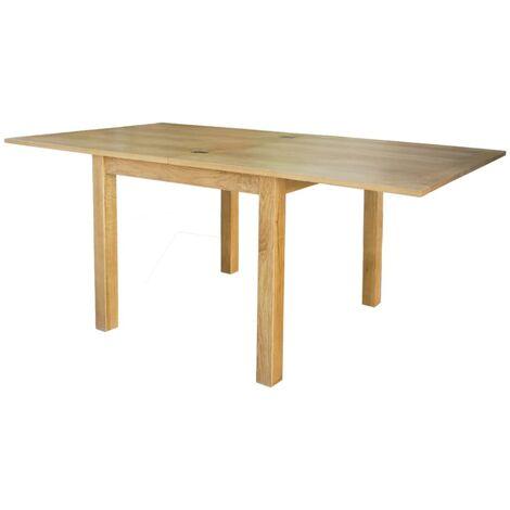 "main image of ""vidaXL Extendable Table Oak 170x85x75 cm - Brown"""
