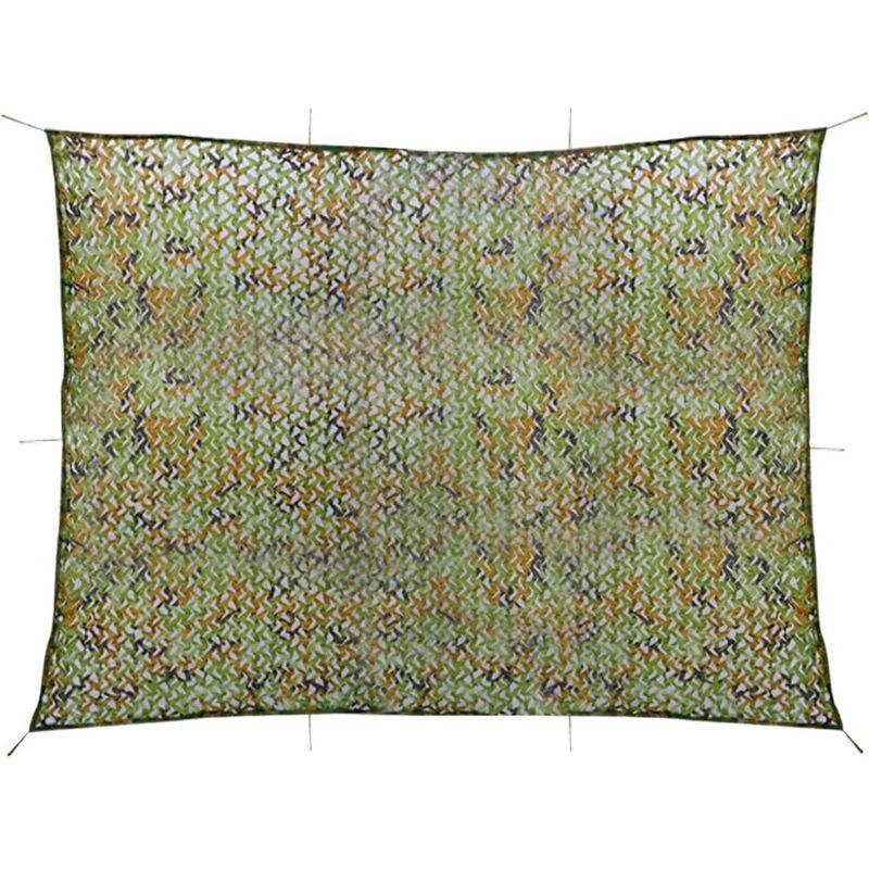 Filet de camouflage avec sac de rangement 3 x 4 m