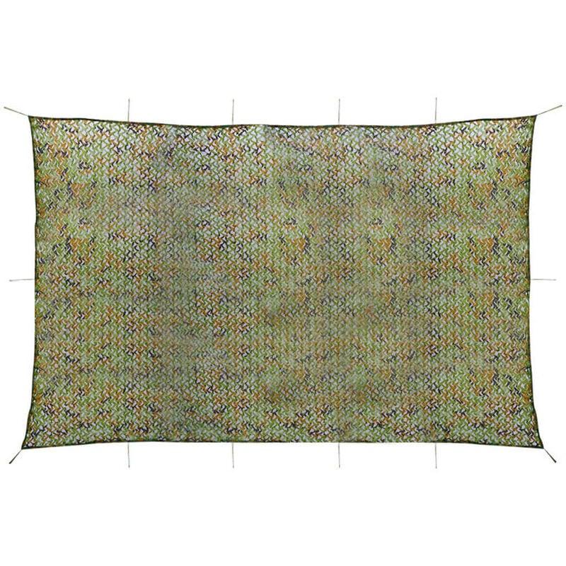 Vidaxl - Filet de camouflage avec sac de rangement 4 x 6 m