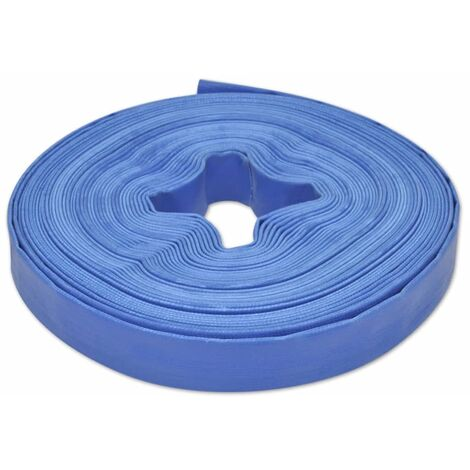 """main image of """"vidaXL Flat Hose 25 m 1"""" PVC Water Delivery"""""""