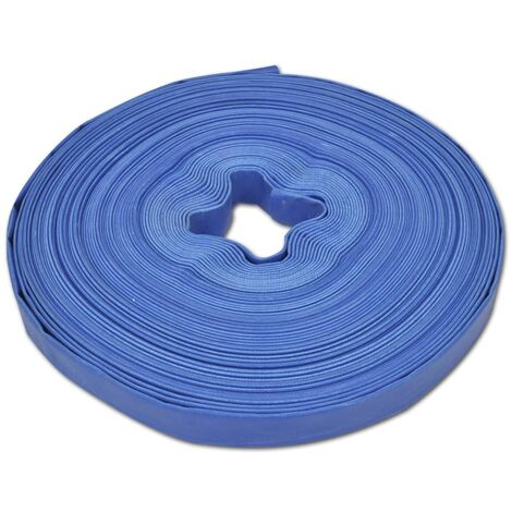 """main image of """"vidaXL Flat Hose 50 m 1"""" PVC Water Delivery"""""""