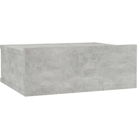 """main image of """"vidaXL Floating Nightstand Durable Wall-Mounted Bedside Side Table Storage Cabinet Wall Shelf With Drawer Chipboard Multi Colours/Quantities"""""""