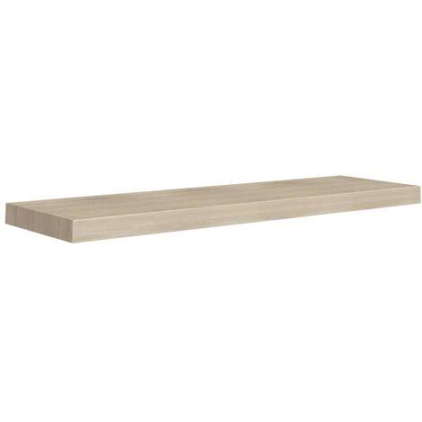 "main image of ""vidaXL Floating Wall Shelf MDF Oak 90x23.5x3.8 cm - Brown"""