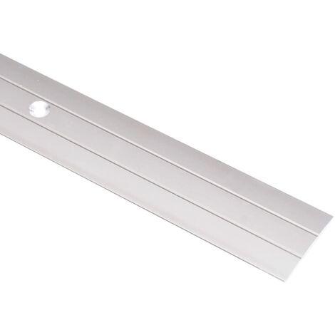"""main image of """"vidaXL Floor Profiles 5 pcs Aluminium 90 cm Silver - Silver"""""""