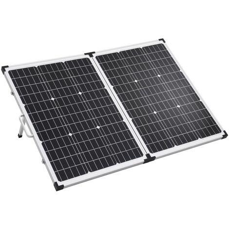 vidaXL Folding Solar Panel Case 60 W 12 V