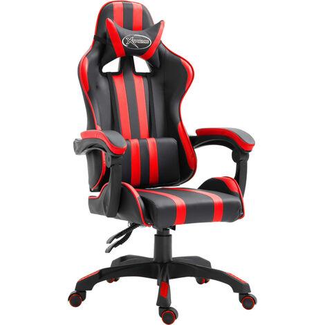 vidaXL Gamingstuhl Bürostuhl Computerstuhl Schreibtischstuhl Drehstuhl Chefsessel PU Liegefunktion Höhenverstellbar Ergonomisch mehrere Auswahl