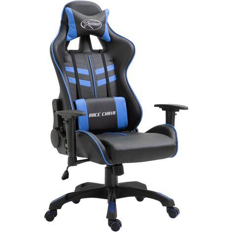 vidaXL Gamingstuhl Bürostuhl Schreibtischstuhl Computerstuhl Drehstuhl Chefsessel Gaming Stuhl PU Liegefunktion Höhenverstellbar mehrere Auswahl