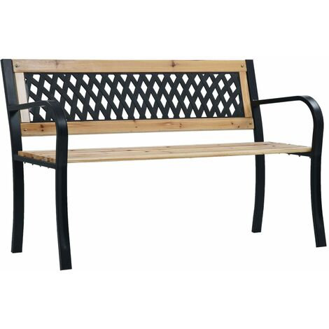 vidaXL Garden Bench 120 cm Wood - Brown