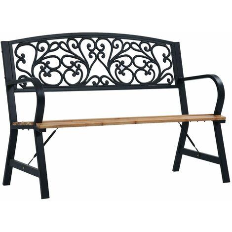 vidaXL Garden Bench 120 cm Wood - Brown
